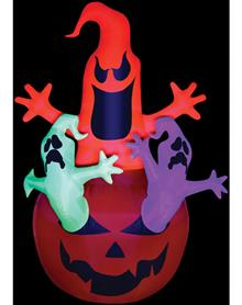 new 2013 neon inflatable halloween blowups - Halloween Inflatables Clearance